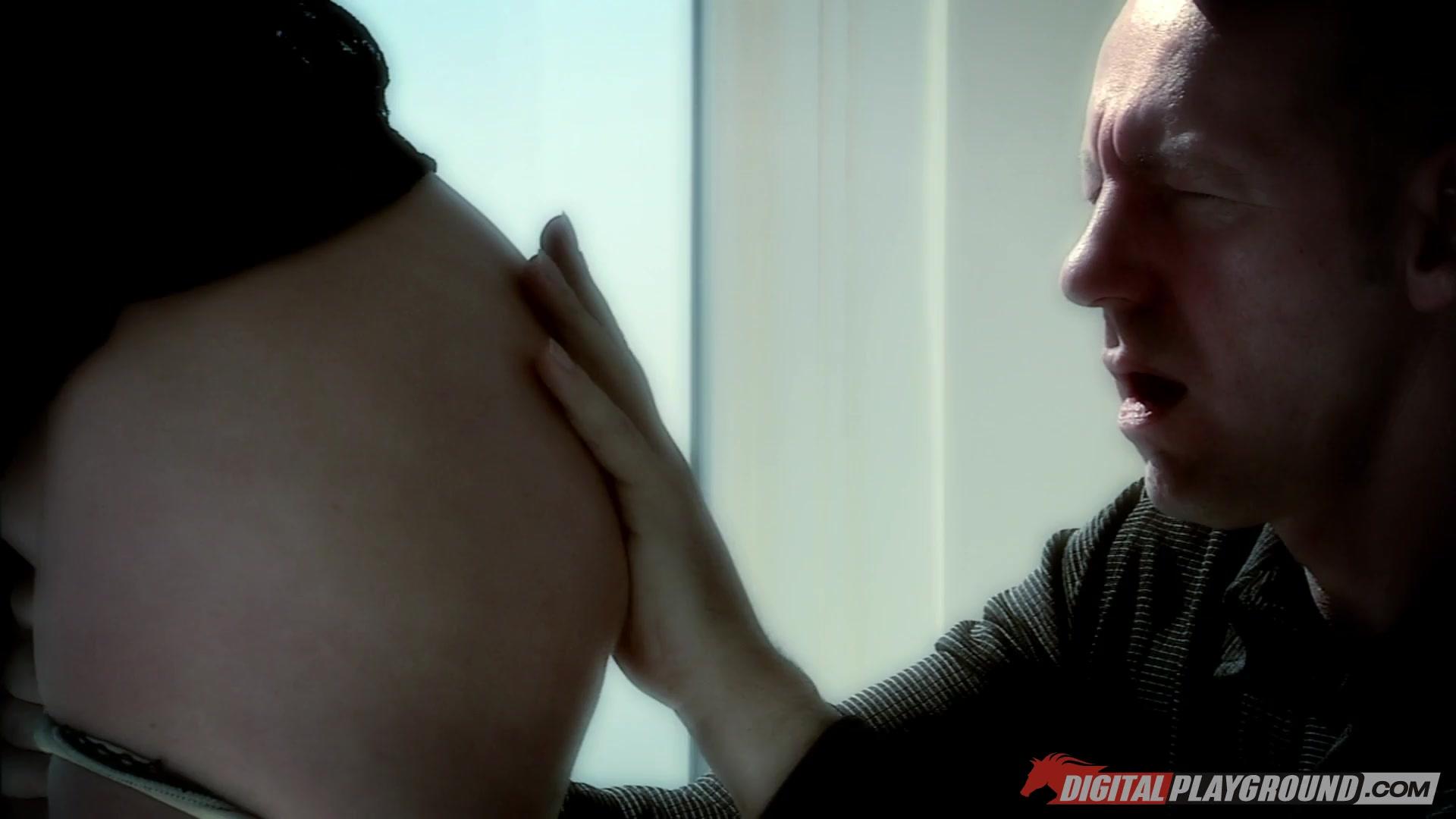 Big dick daddy anal sex and facial