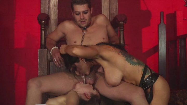 Scene with Xander Corvus, Riley Reid and Romi Rain - image 6 out of 20