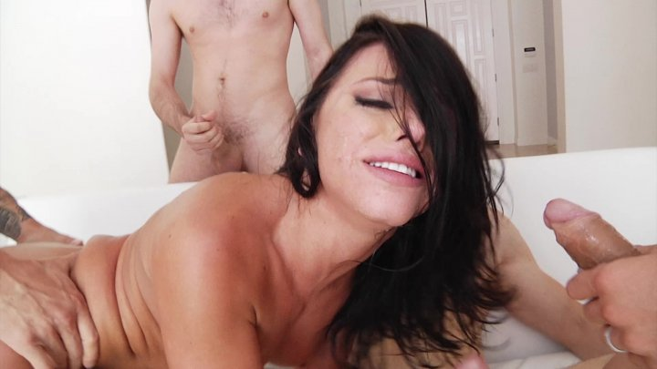 Scene with Erik Everhard, Mick Blue, Criss Strokes and Adriana Chechik - image 7 out of 20