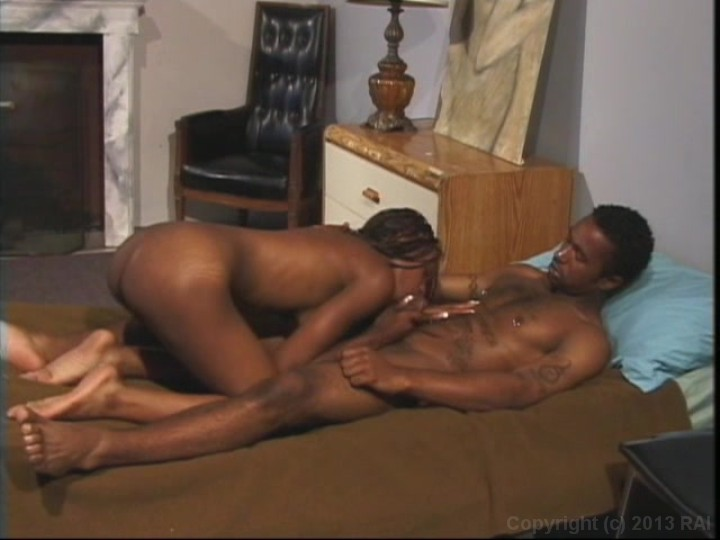Interracial massage and creampie
