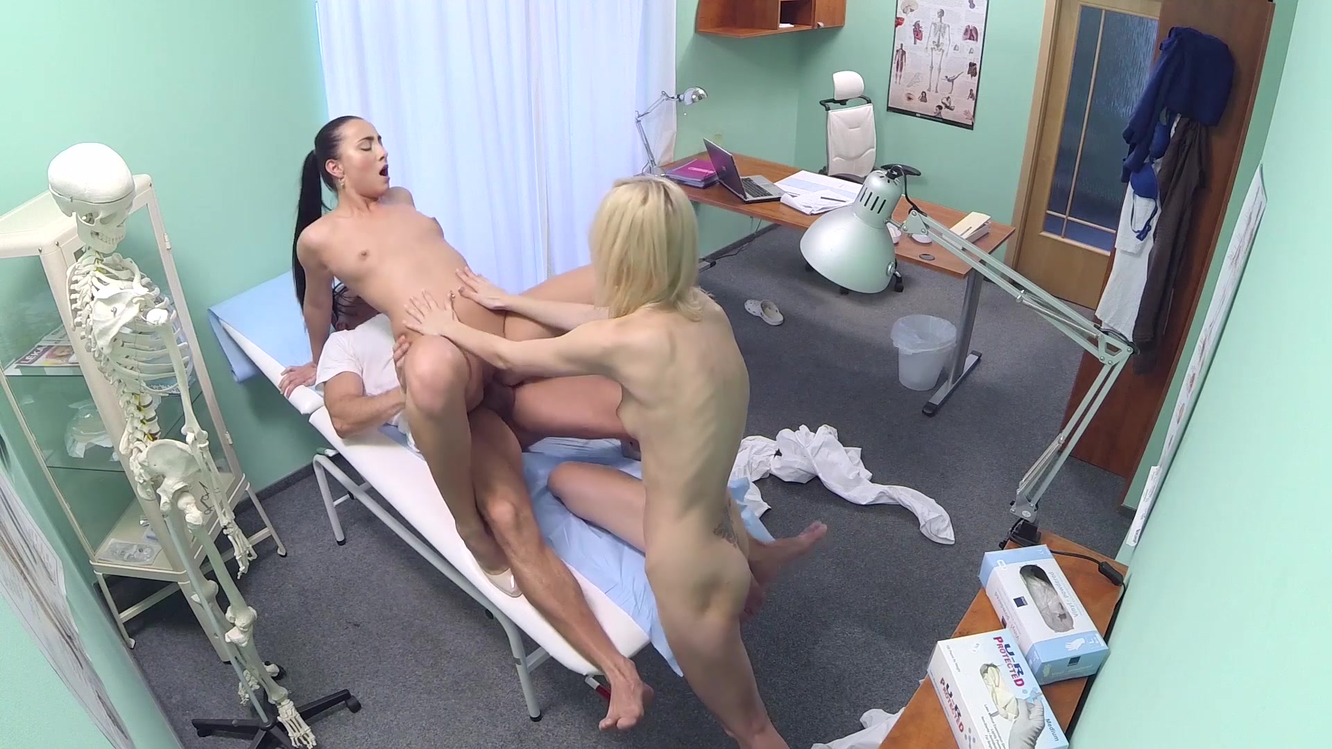 Teen Adult movie nurse Faced with