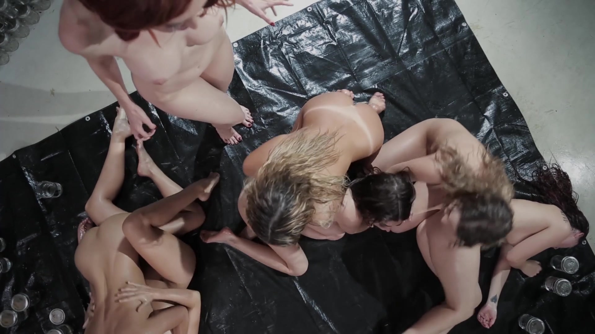Scene with Karlie Montana, Kendra James, Riley Reid, August Ames, Cassidy Klein, Kenna James and Sara Luvv - image 7 out of 20