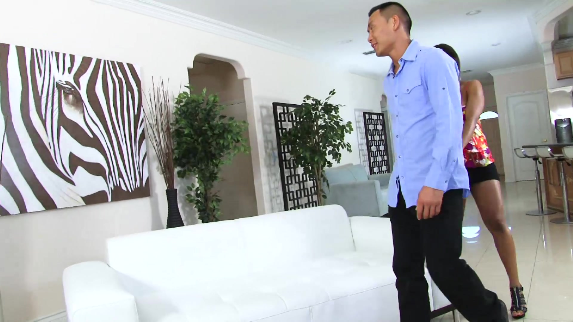 Tricked so horny he came twice bubble butt gh 6