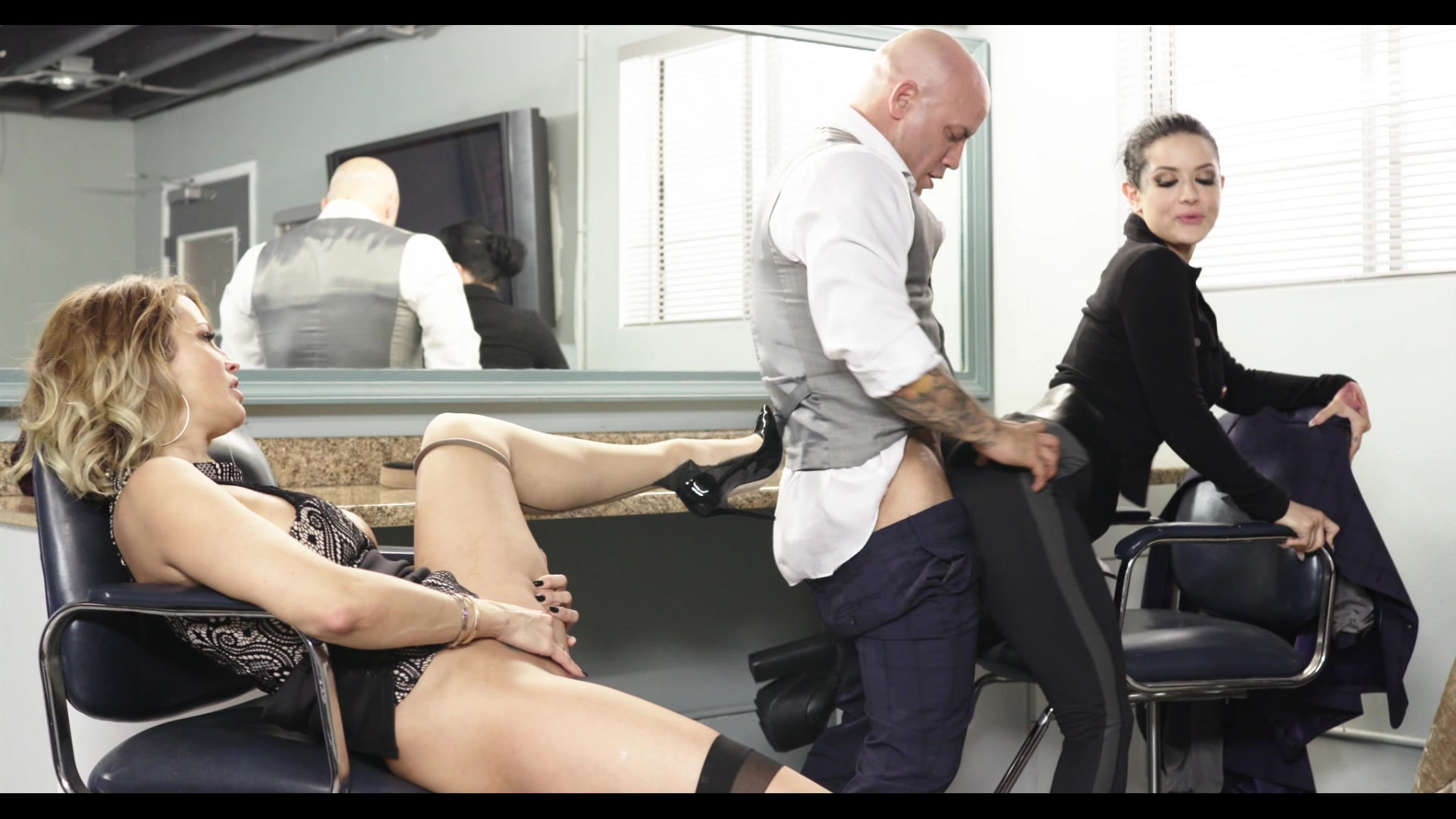 Scene with Jessica Drake, Derrick Pierce and Katrina Jade - image 16 out of 20