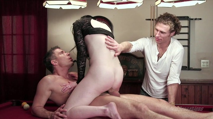 Pretty Dark Haired Babe Veruca James Takes a Pussy Pounding  Starring:  Mick Blue  Veruca James