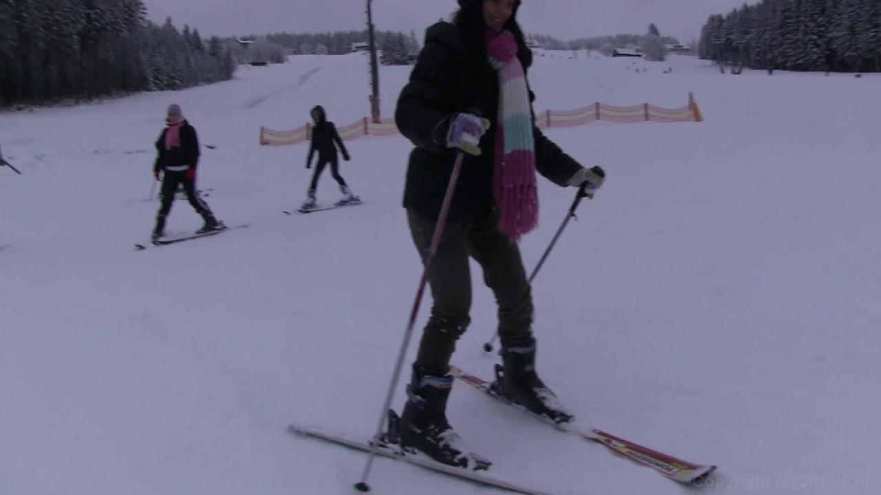 teen snow tube
