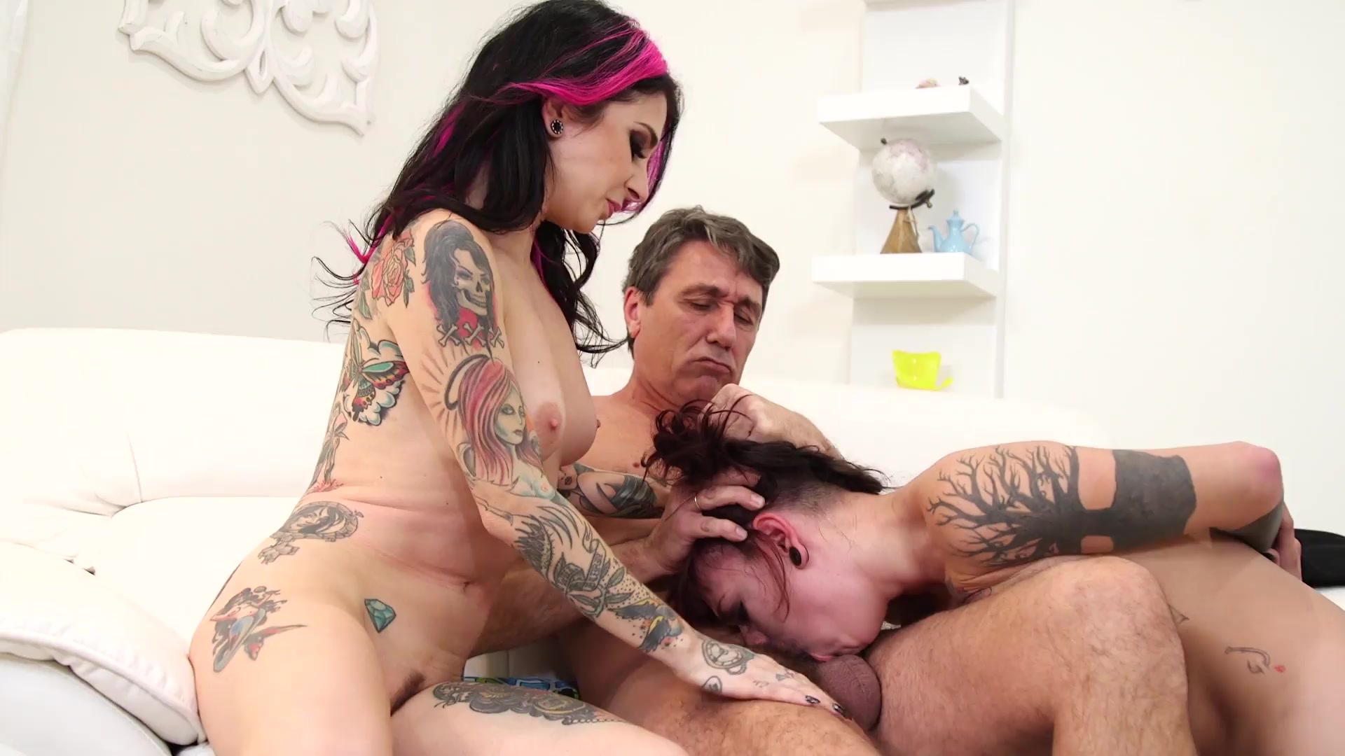 Tattooed brunette brandy aniston take cock 5