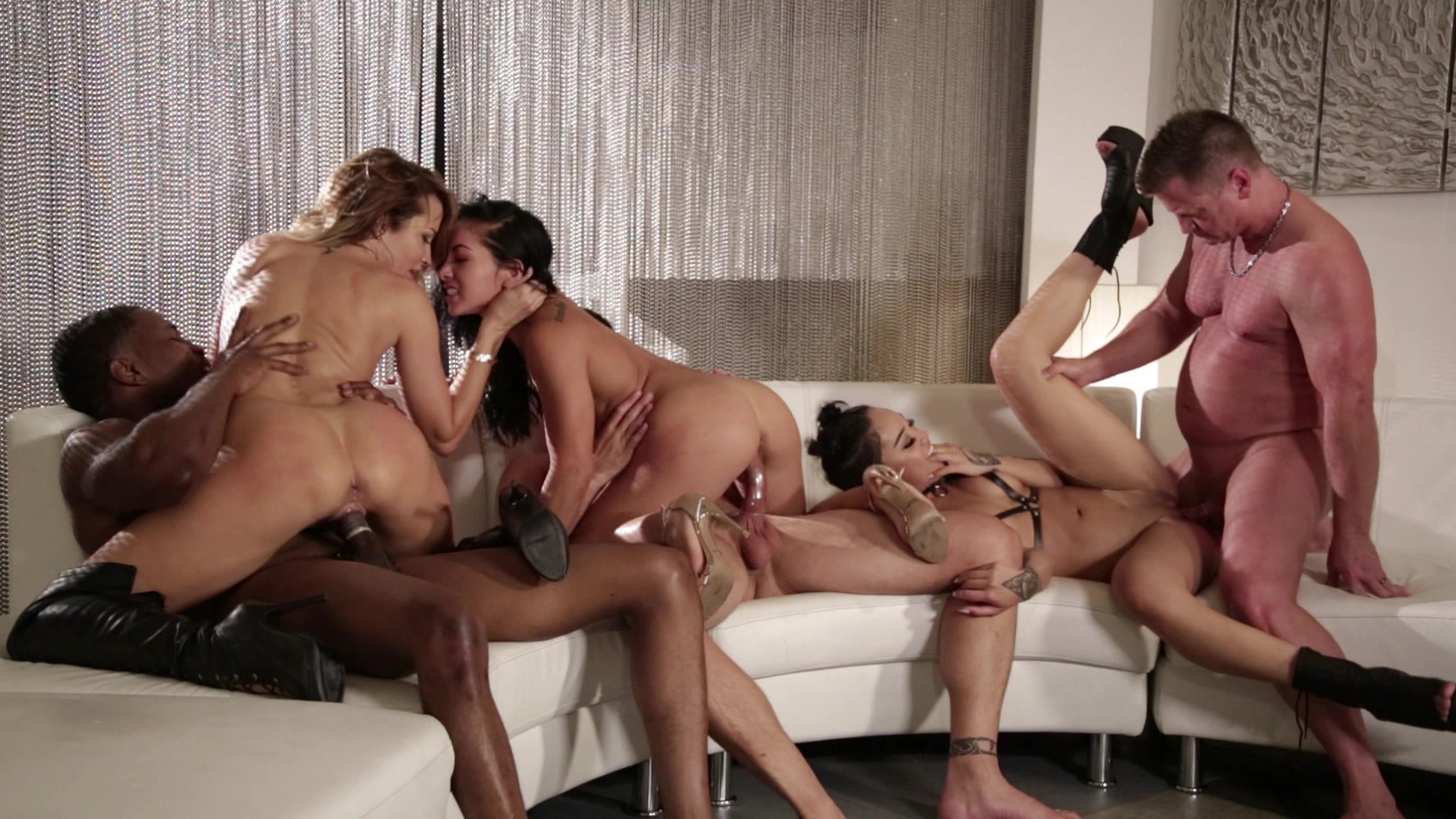Scene with Jessica Drake, Morgan Lee and Honey Gold - image 18 out of 20