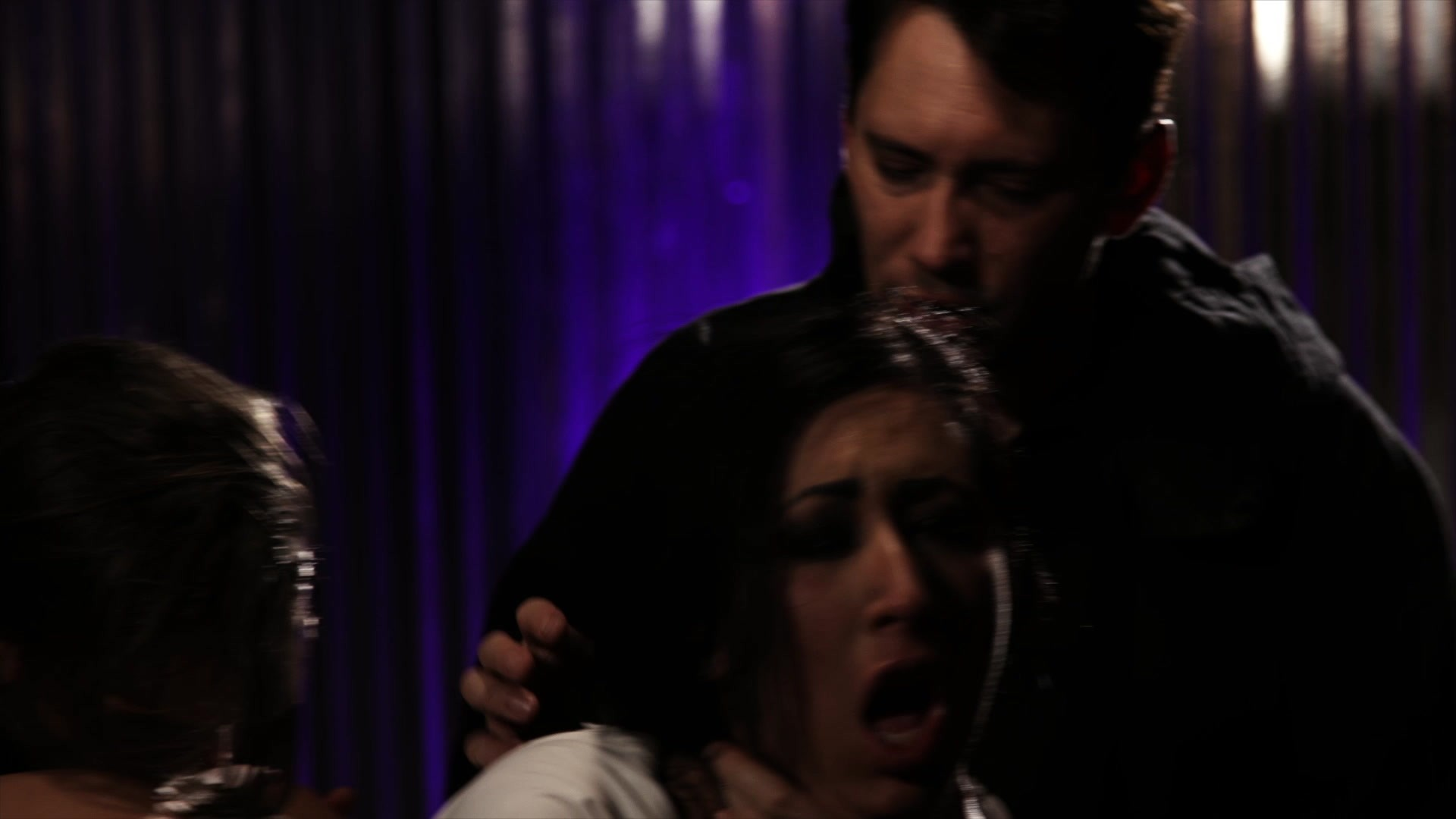 Scene with Tommy Pistol, Lily Lane and Owen Gray - image 7 out of 20