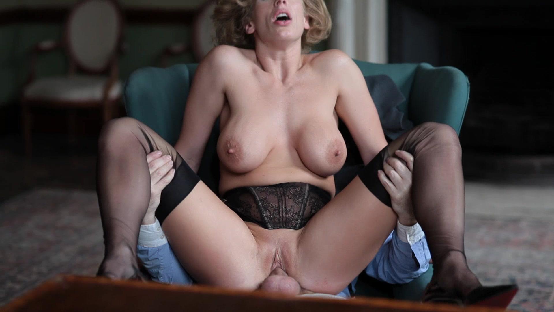 Porn in garden bitch needs