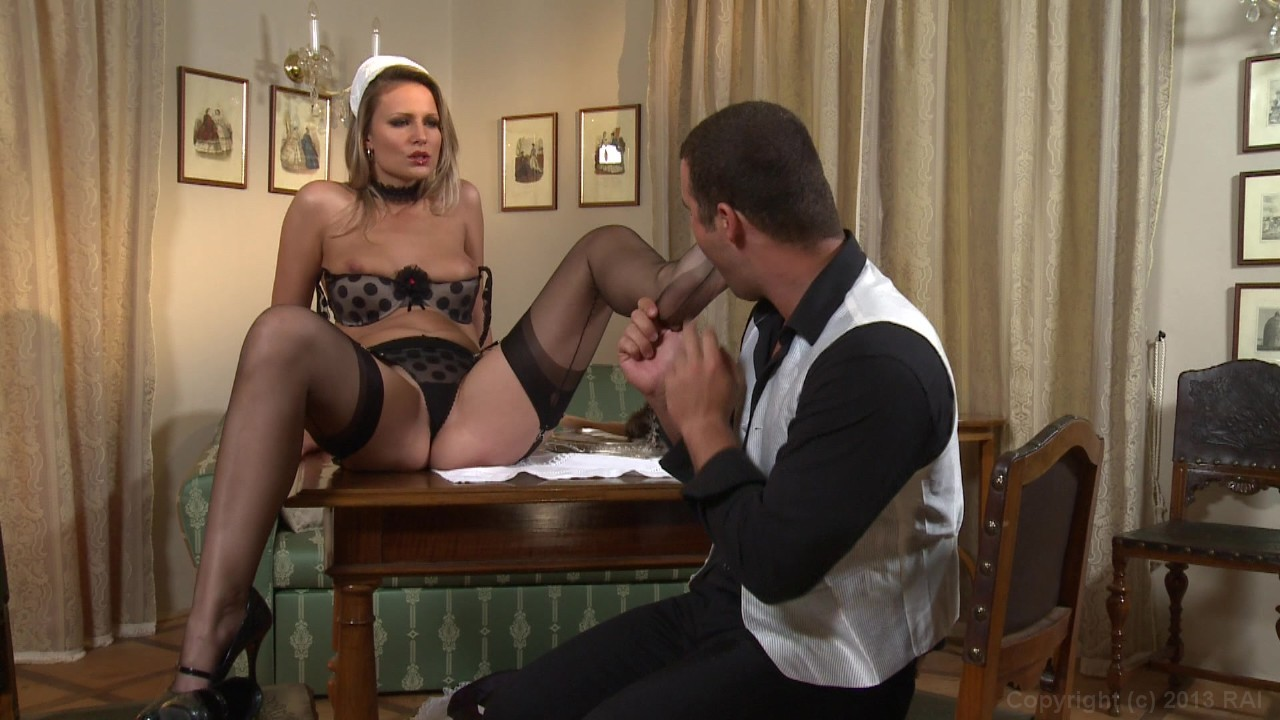 French maid porn mature
