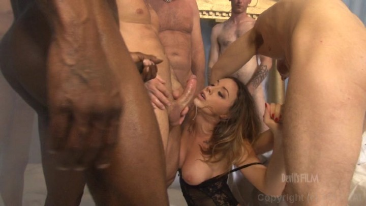 The devils gangbang lisa ann chanel preston