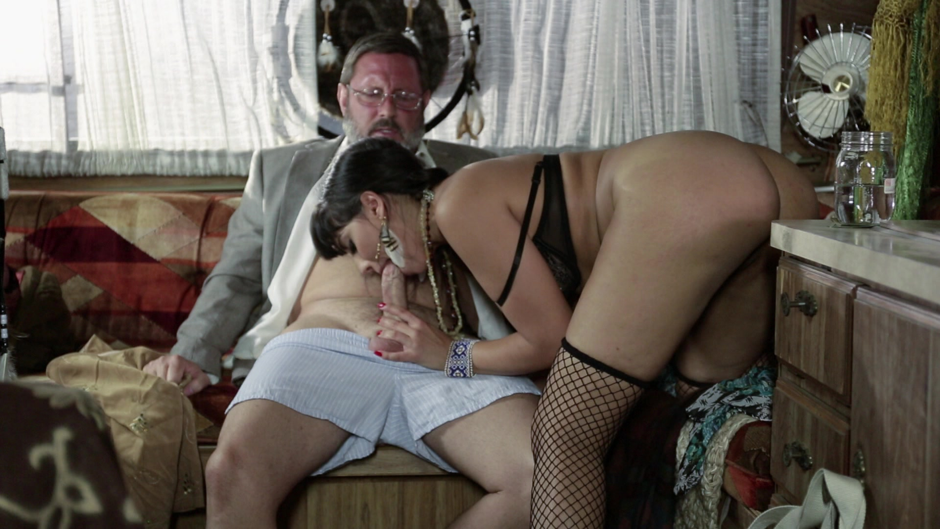 Scene with Brad Armstrong and Mercedes Carrera - image 11 out of 20