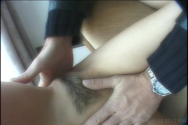 Blow job with finger in ass
