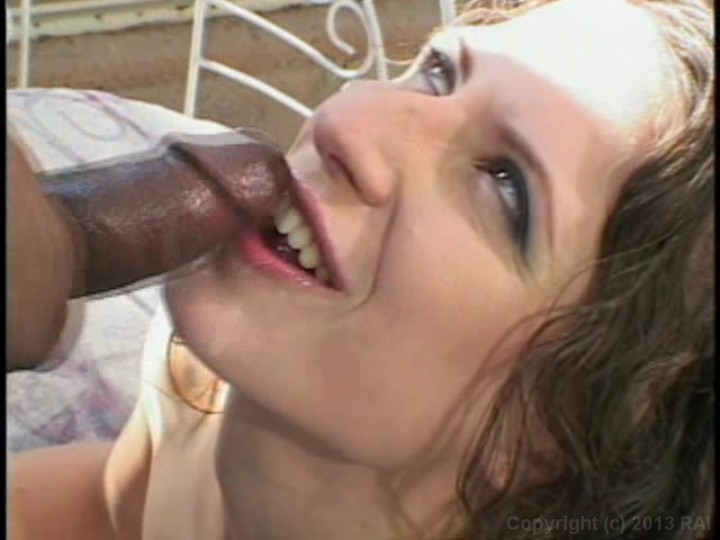 She swallows a huge cock