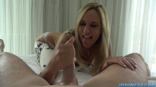 Jodi West - Happy Fathers Day Handjob image three