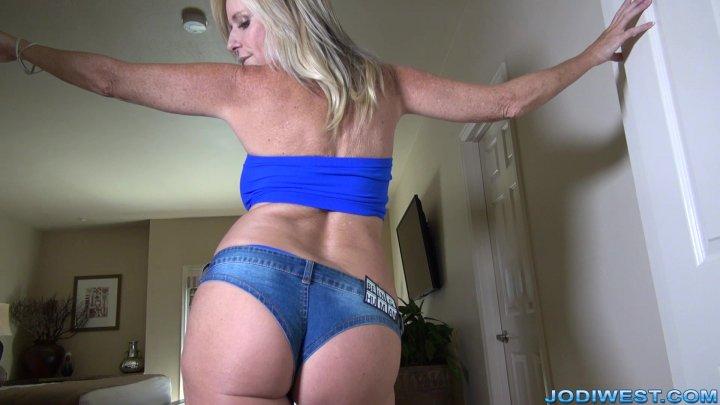 Jodi West - Tiny Jeans Ass Worship image.