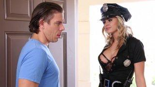 Police Woman Jessa Rhodes Has Amazing Tits