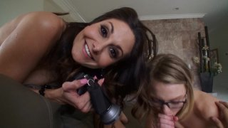Streaming porn video still #7 from Busted Babysitters #2