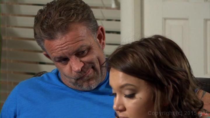 Dakota skye seeks comfort from dad 4