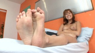 Streaming porn video still #6 from Foot Fetish Daily Vol. 19