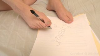 Streaming porn video still #8 from Foot Fetish Daily Vol. 19
