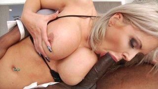 Streaming porn video still #2 from Busty Interracial Vol. 2