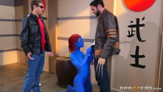 Streaming porn video still #1 from Brazzers Presents: The Parodies 6
