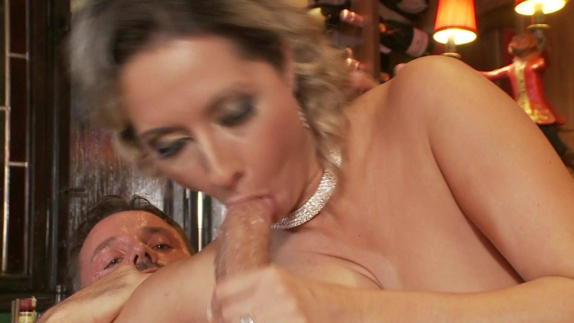 Naked bent over mom