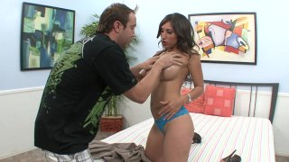 Streaming porn video still #11 from Fuck My Big Titted Wife #9