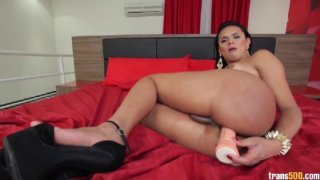 Streaming porn video still #8 from TS Cock Strokers 6