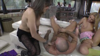 Streaming porn video still #8 from Rocco's Dirty Girls #3