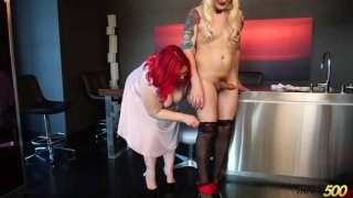 Streaming porn video still #3 from Transsexual Sexcapades 11