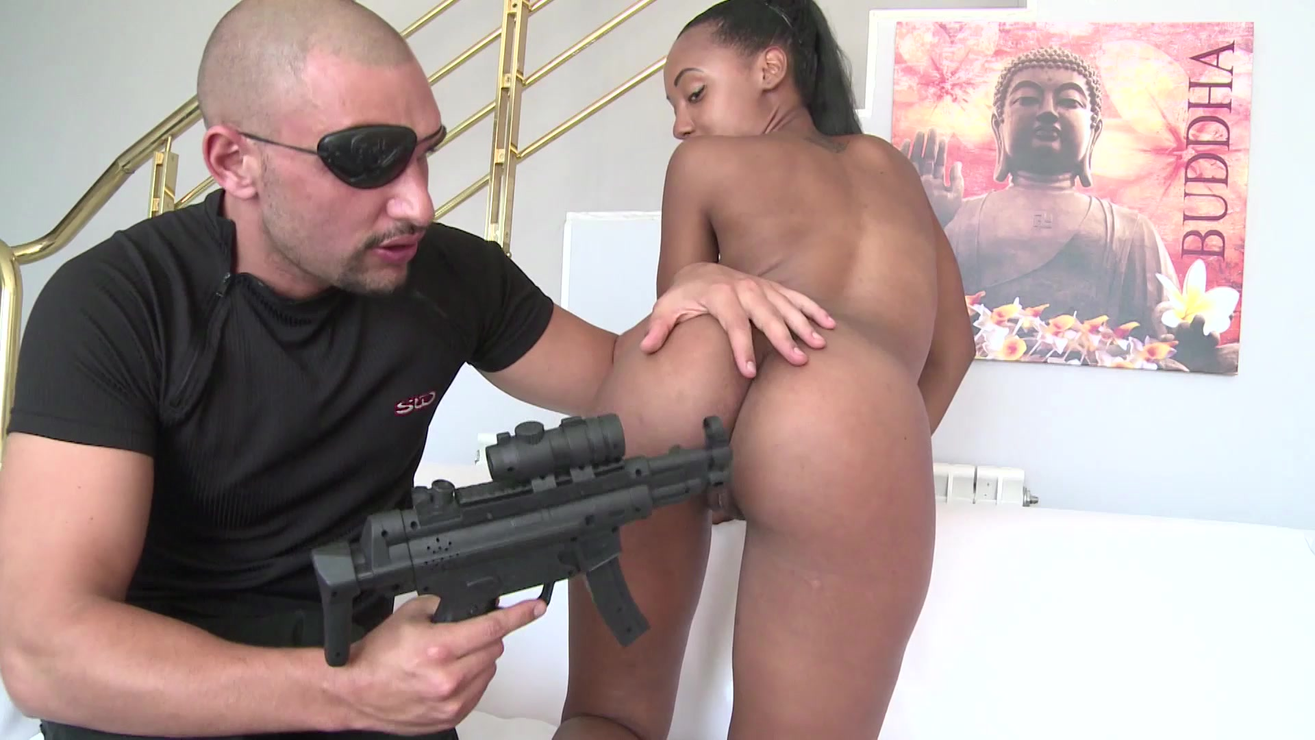 Noemilk Gets Her Black Pussy Stuffed With White Cock Starring: Noemilk Length: 38 min
