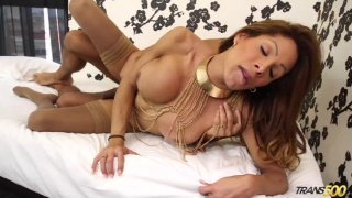 Streaming porn video still #8 from Best Of Transsexual Sexcapades 5, The