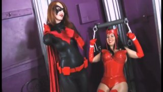 Streaming porn video still #4 from Scarlet Witch VS Black Widow And Batwoman