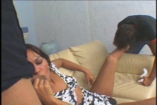 Streaming porn video still #2 from Transsexual Heart Breakers 28