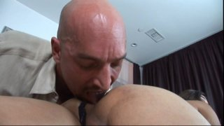 Streaming porn video still #2 from Transsexual Babysitters 2