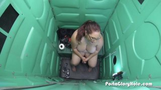 Streaming porn video still #4 from Real Public Glory Holes 2
