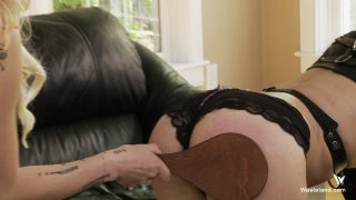 Streaming porn video still #4 from Femdoms Take Charge