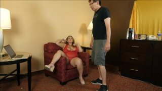 Streaming porn video still #2 from Daddy Likes 'Em Fatty