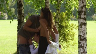 Streaming porn video still #3 from Mina Sauvage: Her 1st Summer Camp