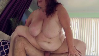 Streaming porn scene video image #7 from Old Man Fucks BBW