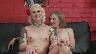 Streaming porn video still #18 from TS Pussy Hunters Vol. 6: Creampies 2