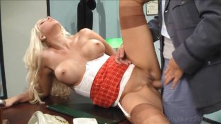 Streaming porn video still #5 from Busty Blonde Blowout