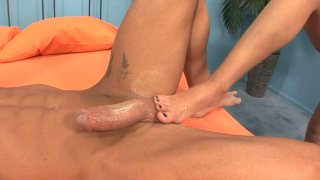 Streaming porn video still #1 from Foot Frenzy 4