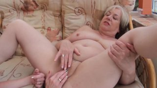 Streaming porn video still #4 from Mature British Lesbians #1
