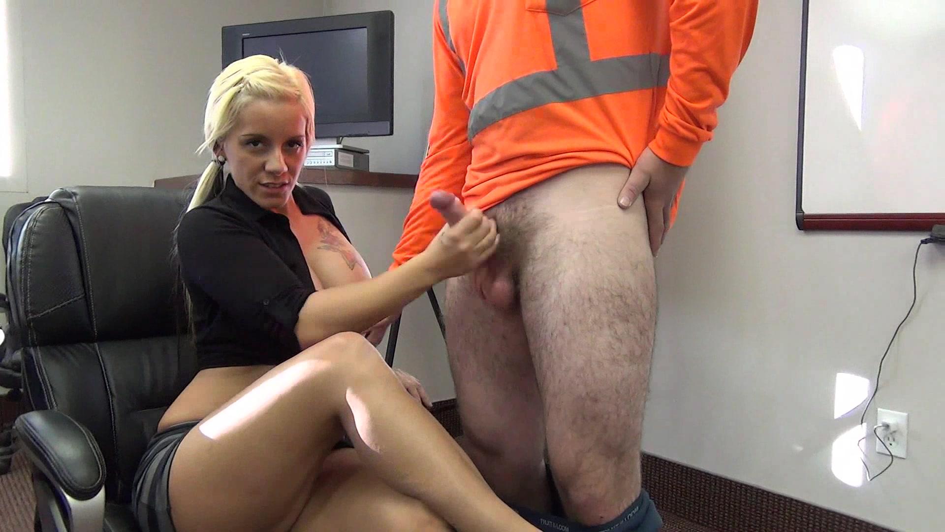 Male bondage jerked off