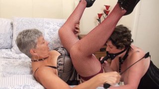 Streaming porn video still #3 from Mature British Lesbians #3