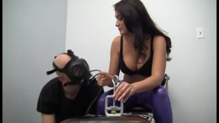 Streaming porn video still #5 from Jersey Black's Femdom Fanatics Vol. 2